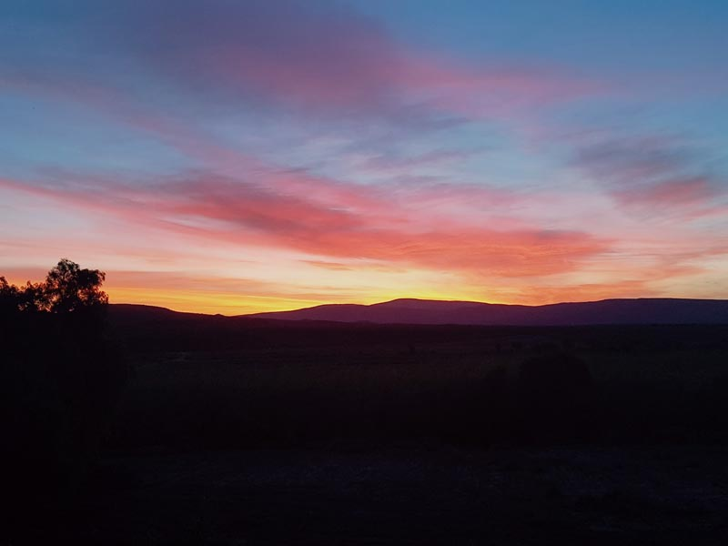 Karoo_Sonnenuntergang